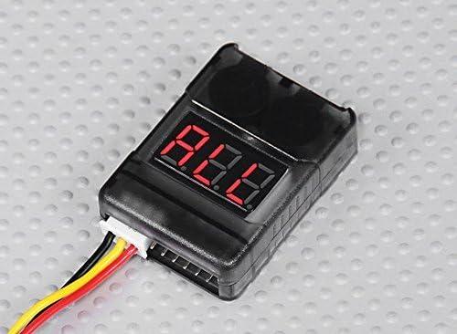 Walkera QR X800 FPV 5.8Ghz LiPo Battery Low Voltage Alarm Buzzer Tester Checker 1S-8S - FAST FREE SHIPPING FROM Orlando, Florida USA! | Brillance De Couleur