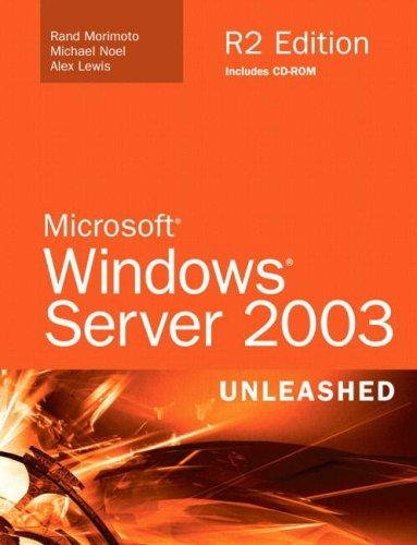 Microsoft Windows Server 2003 Unleashed (R2 Edition) by Rand Morimoto (2006-05-20) par Rand Morimoto;Michael Noel;Alex Lewis