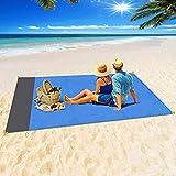 Colinsa (210 200 cm) strandmatte wasserdicht und sanddicht, schnell trocknend Starke Ripstop stranddecke, kompakte Reise, Camping, wandern und Musik Festival (Aufbewahrungstasche verpackung) -