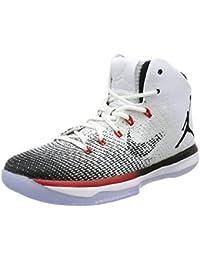 Nike Air Jordan Spike Forty Low, Zapatillas de Baloncesto para Hombre, Negro (Black/Gym Red-Wolf Grey-Cl Gry), 40 1/2 EU