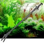 QHGstore Plastic Aquarium Plants Fish Reef Marine Tank Tweezer Clip Fish Tank Tool 70cm 12