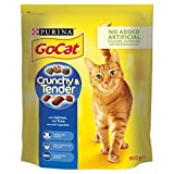 Go-Cat Crunchy and Tender Dry Cat Food Salmon 800g - Case of 4 (3.2kg)