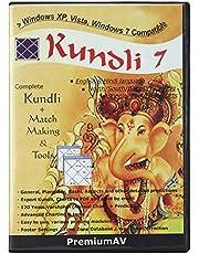 PremiumAV Kundli 7 in English and Hindi Language Complete Kundli + Match Making Software CD