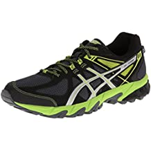 Asics Gel Sonoma Black Green Womens Trainers