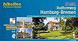 Radfernweg Hamburg - Bremen: Auf Entdeckungsreise von Hansestadt zu Hansestadt - Mit Ausflug nach Worpswede, 150 km. GPS-Tracks-Download, wetterfest/reißfest (Bikeline Radtourenbücher)