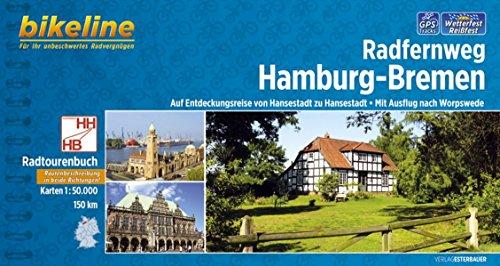 Hamburg - Bremen Radfernweg 2014 por Bikeline