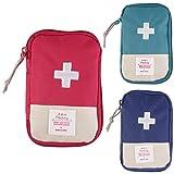 Medicina píldora portátil al aire libre Organizador Emergency First Medical Aid Kit de Supervivencia bolsa de viaje