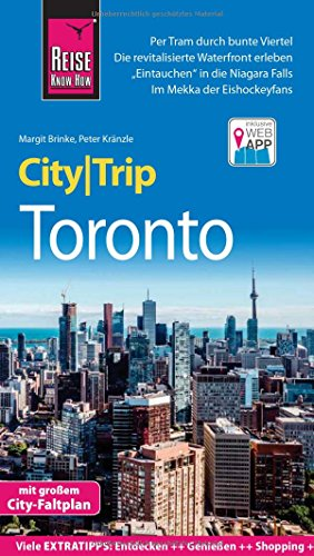 Preisvergleich Produktbild Reise Know-How CityTrip Toronto: Reiseführer mit Faltplan und kostenloser Web-App