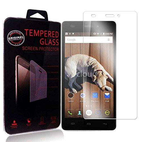 Ycloud Panzerglas Folie Schutzfolie Bildschirmschutzfolie für Doogee X5 / X5 Pro / X5S (5 Zoll) screen protector mit Härtegrad 9H, 0,26mm Ultra-Dünn, Abger&ete Kanten