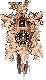 Hönes Kuckucksuhr 1-Tag-Uhrwerk geschnitzt 35cm Original aus dem Schwarzwald