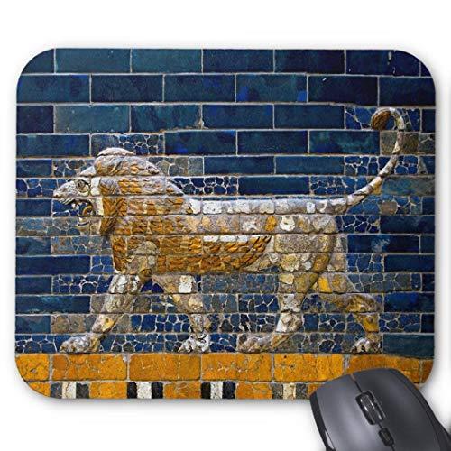 Mauspad 20*24cm Mousepad in Standard-Gr??e, rutschfest-alten Mesopotamien babylonischen L?wen