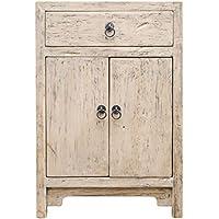 Casa-Padrino Country Style Chest Natural Colors 50 x 40 x H. 75 cm - Country Style Furniture - Comparador de precios
