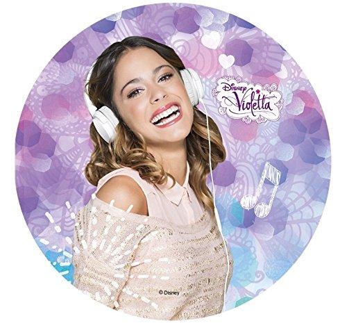 Tortenaufleger Violetta 06