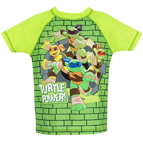 Image of Teenage Mutant Ninja Turtles Boys Ninja Turtles Two Piece Swim Set Age 5 to 6 Years