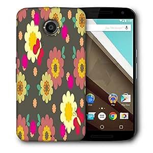 Snoogg Multicolor Pattern Designer Protective Phone Back Case Cover For Motorola Nexus 6