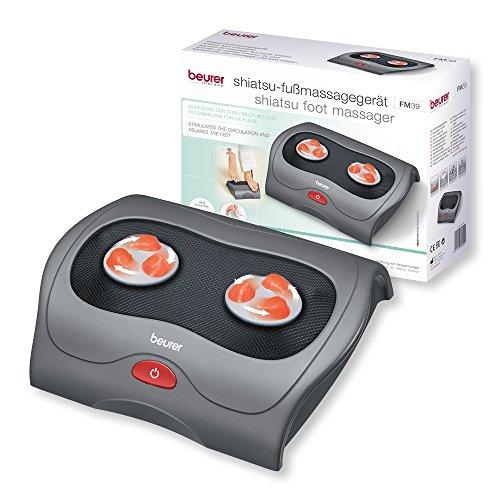 Beurer FM 39 Shiatsu Fußmassagegerät mit Wärmefunktion, Fußreflexzonenmassage