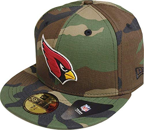 New Era Arizona Cardinals Essential Camo Cap 59fifty 5950 Fitted Basecap Kappe Men Special Limited Edition -