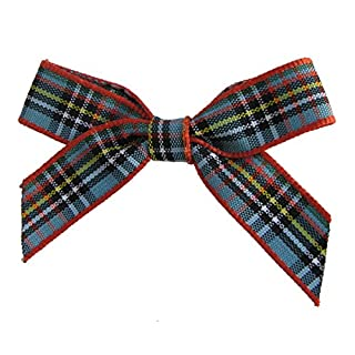 Anderson Tartan Bows. Pack of 20 in 10mm ribbon. Available in Selection of Tartans