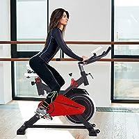 Preisvergleich für AsVIVA S11 Indoor Cycle Cardio XI mit 14kg Schwungscheibe, Riemenantrieb und Filzbremse, inkl. Multifunktionscomputer mit Handpulsmessung sowie Tablet und Smartphone Halterung