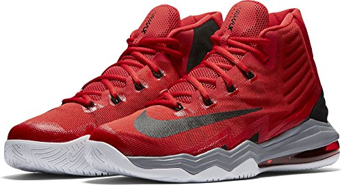 Nike Air Max Audacity 2016, Chaussures de Sport-Basketball Homme University Red/Weiß/Stealth/Schwarz