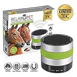RelaxoPet Entspannungsgerät | Version für Pferde | Beruhigung durch Klangwellen | Ideal bei Stallunruhe, Stress oder bei Transporten | Hörbar und unhörbar | 5V, kabellos