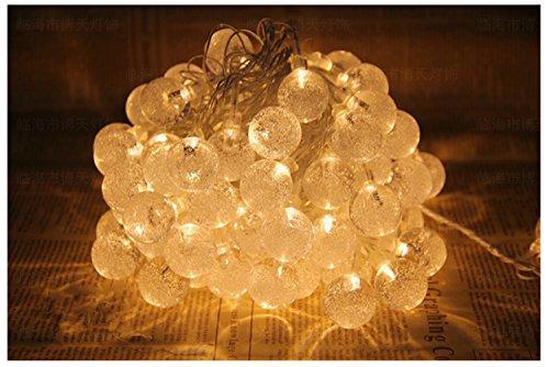 Weihnachten Hochzeit Kinderzimmer Dekorative Leuchten Lampe Nachtlicht Lampe Beleuchtung Batteriebetrieben Star Kugel (Kristall Kugel)