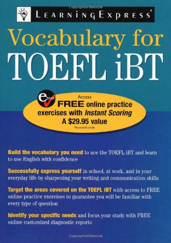Vocabulary for TOEFL iBT