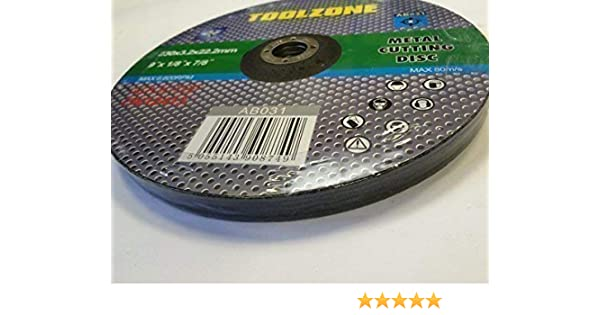 """Stainless Steel Cutting Disc Angle Grinder Blade Metal Cutter x 5 230mm 9/"""""""