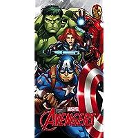 Star Licensing 45659Toalla Playa Avengers, Microfibra, Multicolor, 140x 70x 0.5cm