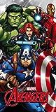 Star Licensing 45659 Telo Mare Avengers, Microfibra,, 140x70x0.5 cm, multicolore
