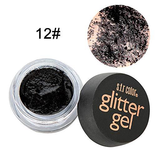 Berrose-Mehrzweck-Shimmer-Glitter-Lidschatten-Pulver-Palette Diamant Lidschatten Funkeln Lipgloss Schimmer Matt Mineral Pigment Palette Nude Beauty Make up