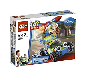 lego 7590 jeu de construction toy story la course en voiture de buzz et woody. Black Bedroom Furniture Sets. Home Design Ideas