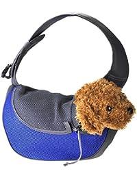 Pequeño perro gato único portador de hombro para la bicicleta de senderismo cachorro portador portador de monedero para viajes al aire libre , s