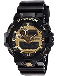 Casio G-shock Analog-Digital Gold Dial Men's Watch-GA-710GB-1ADR (G740)