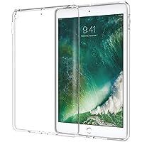 NOVAGO Coque iPad 9.7 5ème génération ( sortie en 2017 A1822 et A1823 ) TPU gel souple ,transparent, ultra résistant et incassable