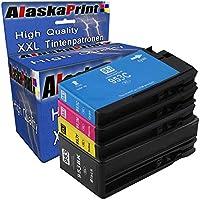 4x Druckerpatronen komp. mit HP 953 XL 953XL Multipack für OfficeJet Pro 7740 WF 8200 Series 8210 8216 8218 8710 8715 8718 8719 8720 Tintenpatronen