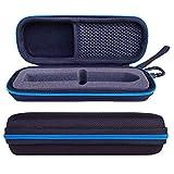 Tasche Für Bite Away-Elektronischer Stichheiler Tasche Taschen Reise Hülle Case Von LAVSS-Schwarz Mit Blauer Zip