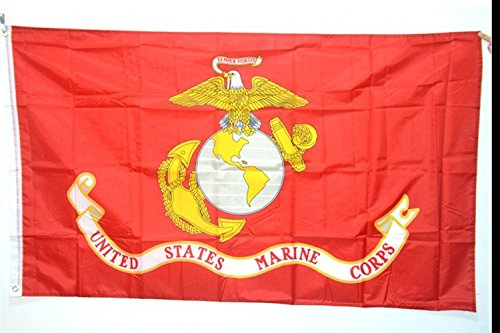 Marine Corps Adler, Globus Und Anker (Pomcat US Marine Corps Eagle Globus Anker 3x5 ft Perma Dye Flagge Haus Banner CJ427)