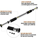#6: Strauss Adjustable Pull Up Door Bar