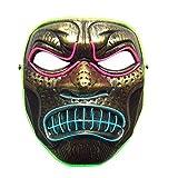 Alian Halloween LED Máscaras Adultos Horror Mask para la Fiesta de...
