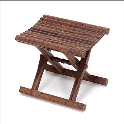 WCUI Ändern Schuhe Hocker Faltbar Portable Mazza Holz Angeln Hocker Kleine Hocker Niedrige Hocker Esszimmer Hocker Waschen Der Hocker Wählen Sie ( größe : 40 cm )