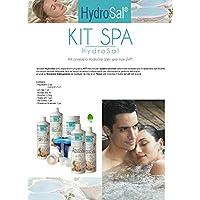 HYDROSAL Kit Tratamiento Agua para SPA con Jacuzzi y Piscina a Base de Agua termale –