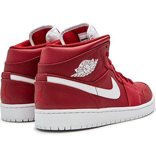 Nike Air Jordan 1 Retro High Og, Scarpe sportive Uomo Gym Red White White