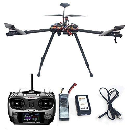 Generische DIY Tricopter Drohne Flugzeug Aktualisierten montiert Combo: HMF Y600 3 Achse Frame, APM2.8 Flug Controller Built-in Compass , 6M GPS,ESC,Bürstenloser Motor, 3300Mah Lipo Akku ,Sender und Empfänger für FPV Mehrachsen Multirotor (Nicht enthalten Kamera-Gimbal)