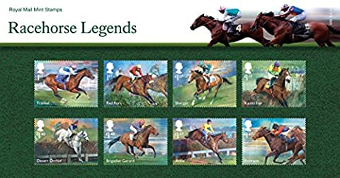 2017 Racehorse Legends stamps in a Presentation Pack PP511 (printed no. 539) - Royal Mail Mint