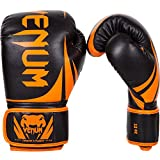 Venum Challenger 2.0 Boxing Gloves - Orange Neon / Black, 16 oz - Venum - amazon.co.uk