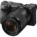 #8: Sony - Alpha a6500 Mirrorless Camera with E 18-135mm f/3.5-5.6 OSS Lens - Black +16-GB Card, Bag