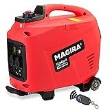 MAGIRA 2,6kW Stromerzeuger Inverter mit E-Start, 2600W Digital Benzin Aggregat in 11 Varianten: 0,8kW - 7,0kW