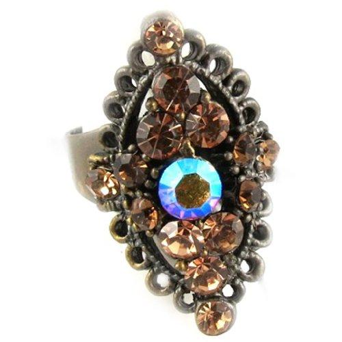 Les Trésors De Lily [D9800] - Ring 'La Véronèse' ambra.