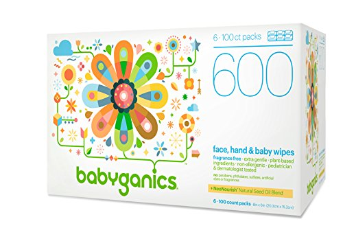 Babyganics-Face-Hand-Baby-Wipes-Fragrance-Free-600-Count-Contains-Six-100-Count-Packs
